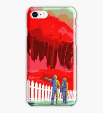Colorful Vintage Astronauts on Exoplanet iPhone Case/Skin