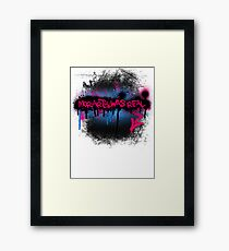Moriarty was real (bubblegum) Framed Print