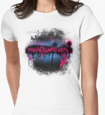 Moriarty was real (bubblegum) Women's Fitted T-Shirt