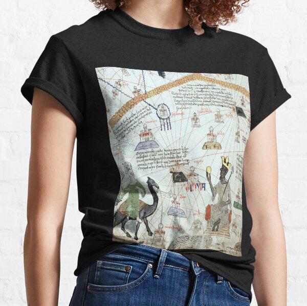 Mansa Musa from the Catalan Atlas Classic T-Shirt