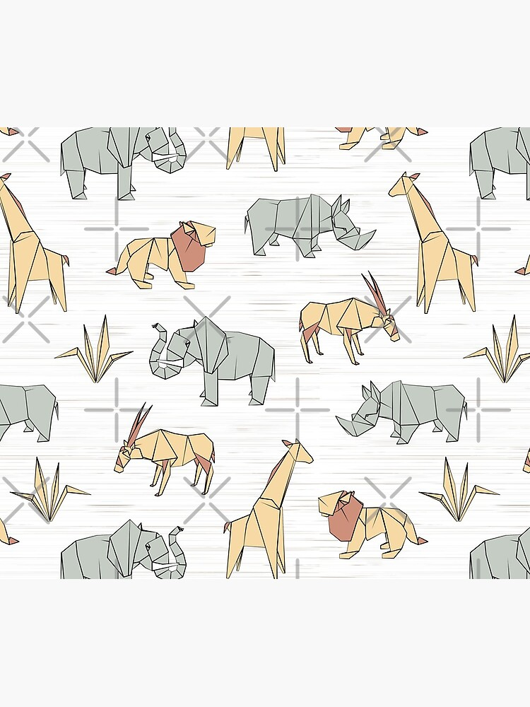 Origami Safari by nadyanadya