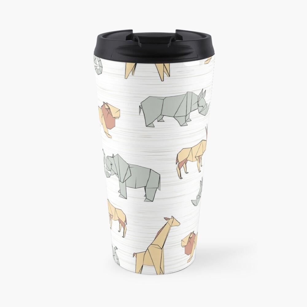 Origami Safari Travel Mug