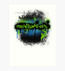 Moriarty was real (electric) Art Print