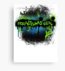 Moriarty was real (electric) Canvas Print
