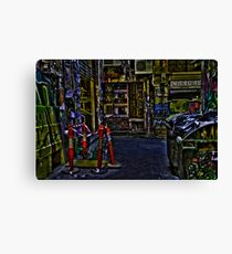 Degraves St 01 Canvas Print