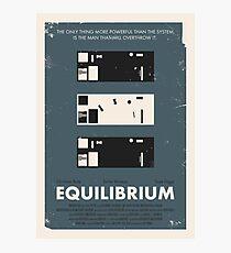 Equilibrium Poster Photographic Print