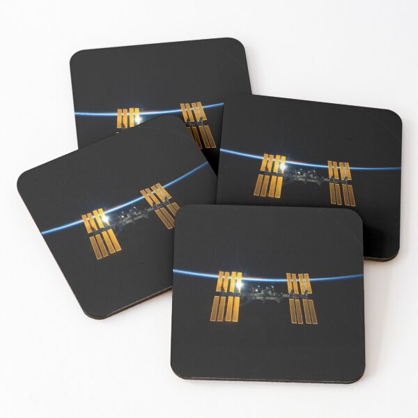ISS Eclipse Coasters (Set of 4)