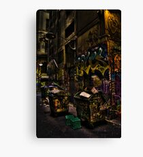 Degraves St 02 Canvas Print