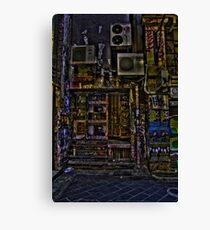Degraves St 10 Canvas Print
