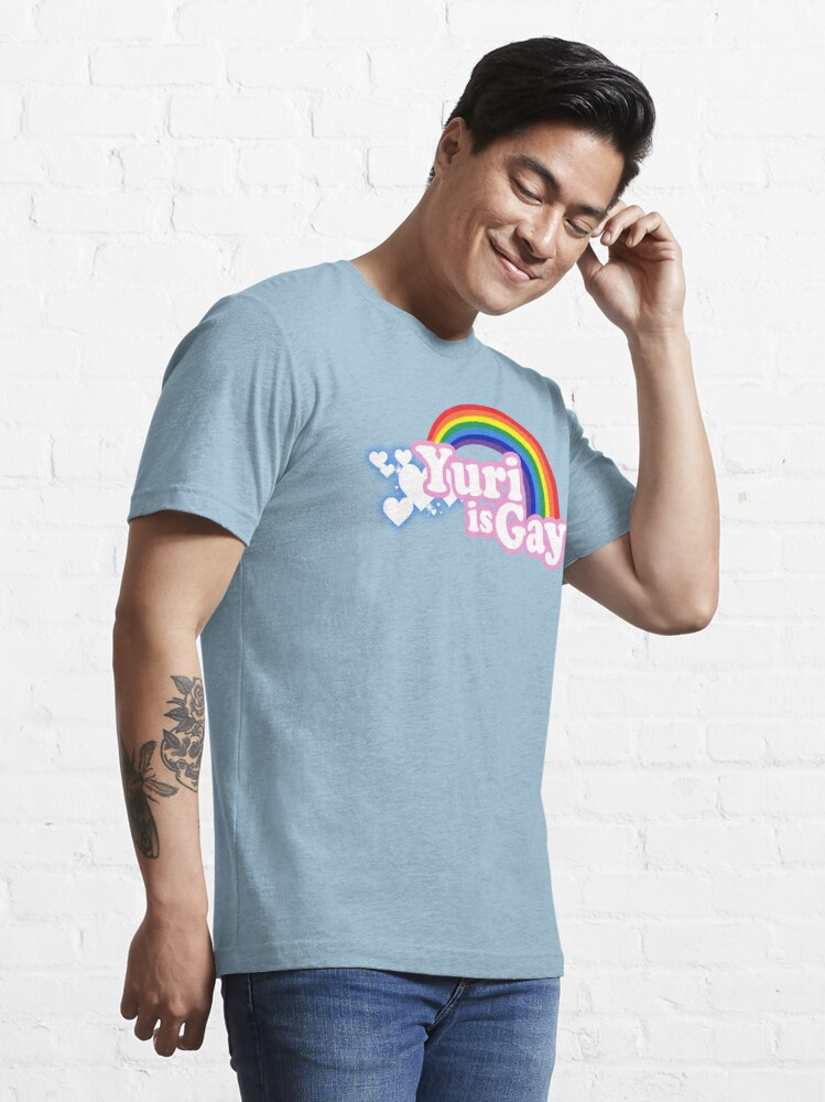 Alternate view of Yuri is Gay Essential T-Shirt