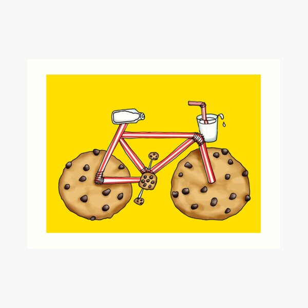 Cookie Cruiser Art Print