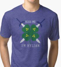 Kiss Me I'm Hylian Tri-blend T-Shirt