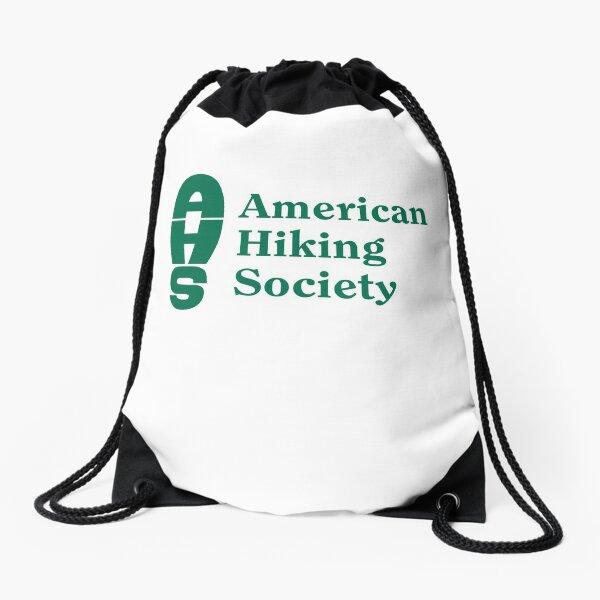 American Hiking Society Drawstring Bag