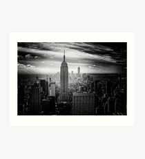 New York City Empire State Building Art Print