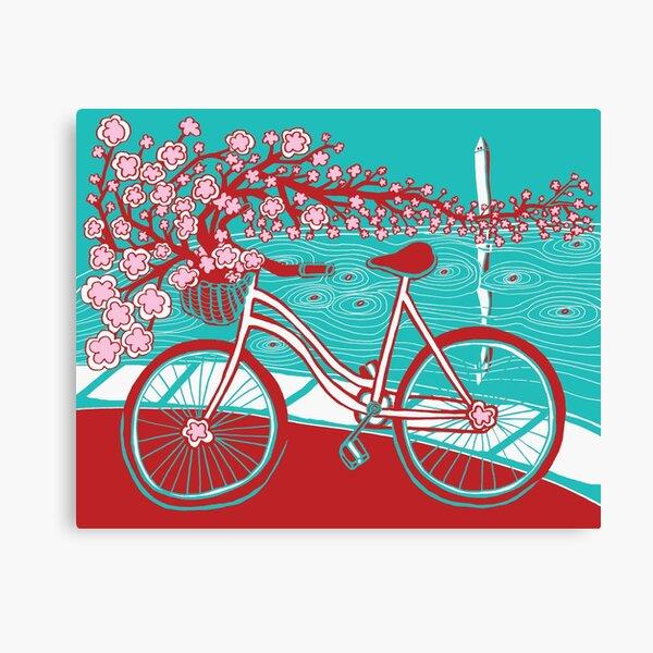 bicycle bloom Canvas Print