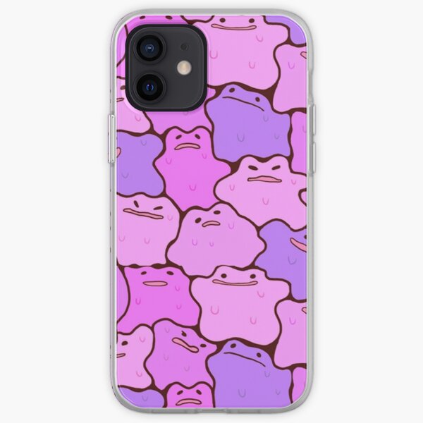 PokePattern - Ditto iPhone Soft Case