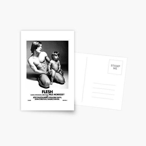 Andy warhol Flesh Movie Poster II Postcard