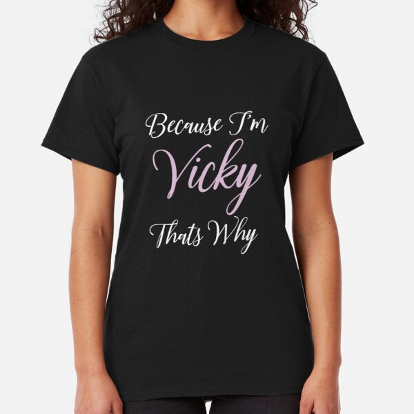 Hello Personalized Name Toddler//Kids Sporty T-Shirt My Name is Victoria