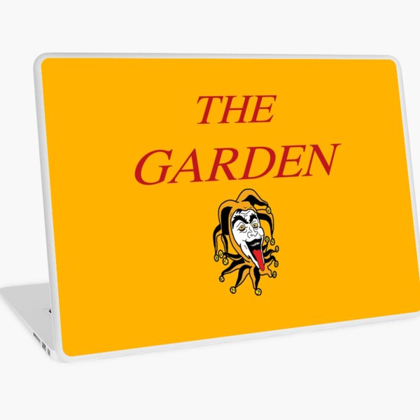 The Garden Band Vada Vada Merch - Mirror Might Steal Your Charm Laptop Skin