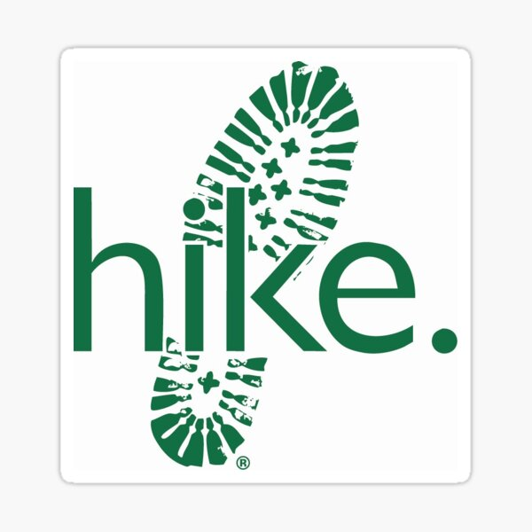 hike. Sticker
