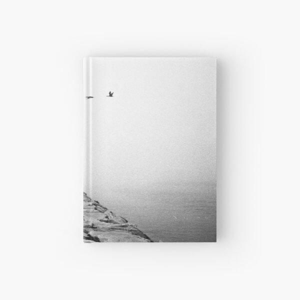 Foggy Jetty Hardcover Journal