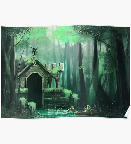 Swamp Temple Poster