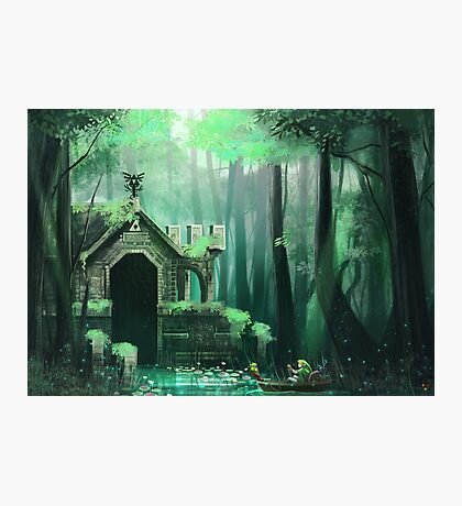 Swamp Temple Photographic Print