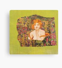 Eve In the Garden of Creation Canvas Print