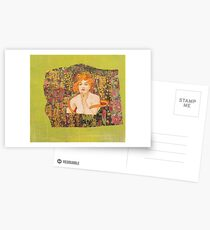 Eve In the Garden of Creation Postcards