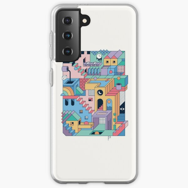 80's Escher Samsung Galaxy Soft Case