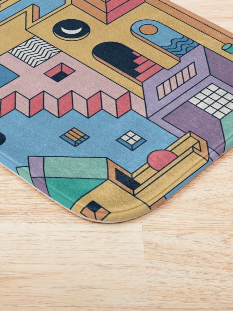 Alternate view of 80's Escher Bath Mat