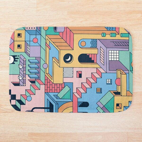 80's Escher Bath Mat