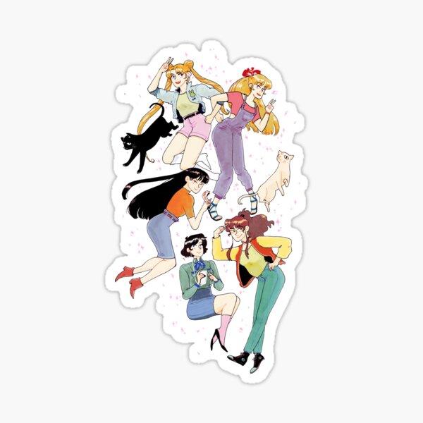 Sailor Scouts! Sticker