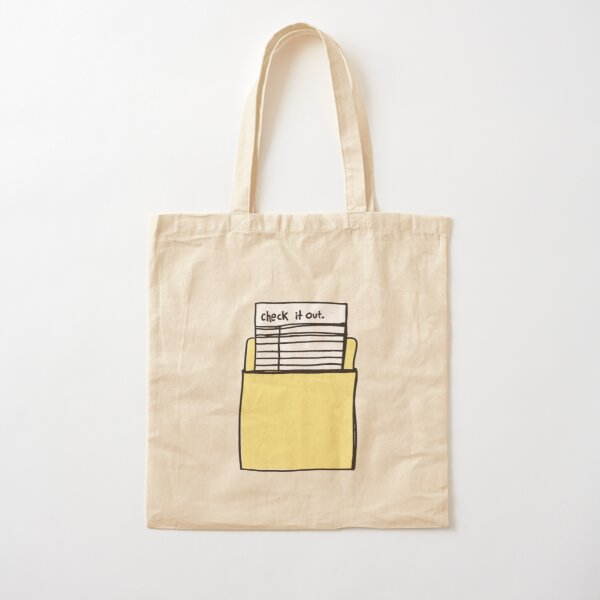 Check it Out Cotton Tote Bag