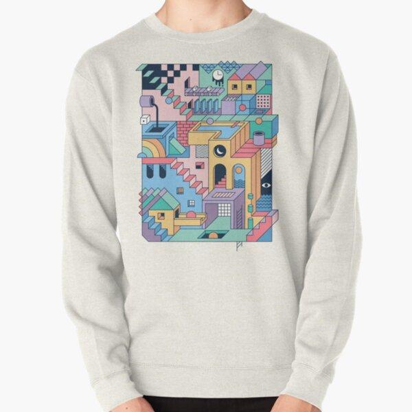 80's Escher Pullover Sweatshirt
