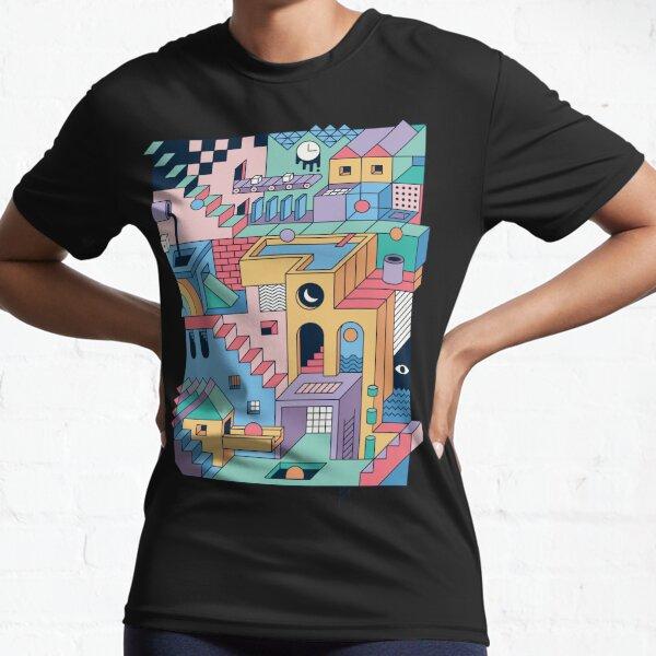 80's Escher Active T-Shirt