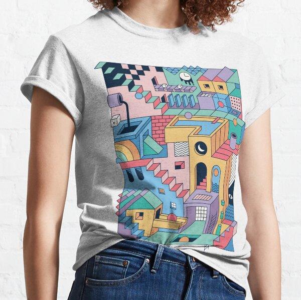 80's Escher Classic T-Shirt