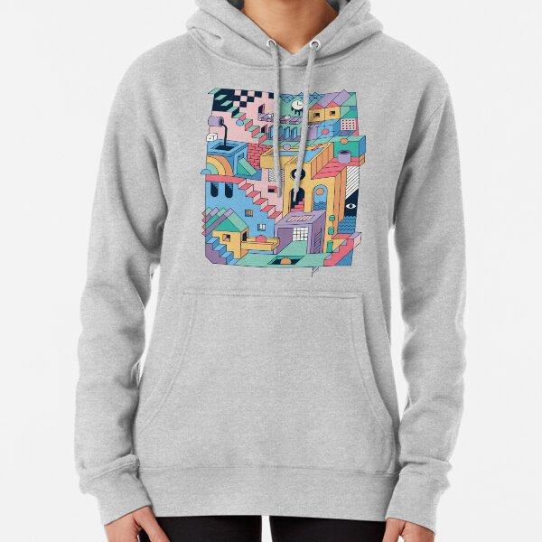 80's Escher Pullover Hoodie