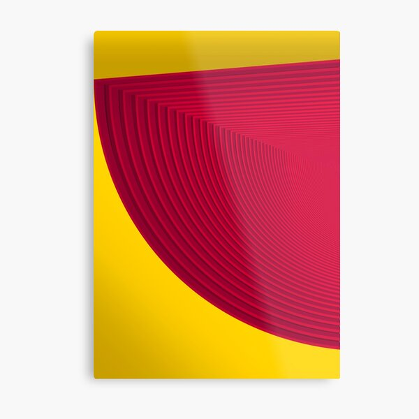 Psyched stripes #01 Impression métallique