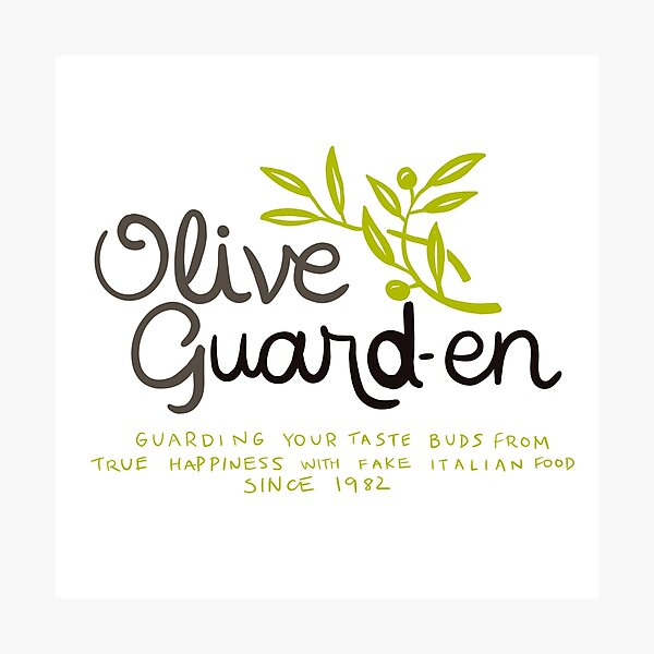 Olive Garden Good Gifts Merchandise Redbubble