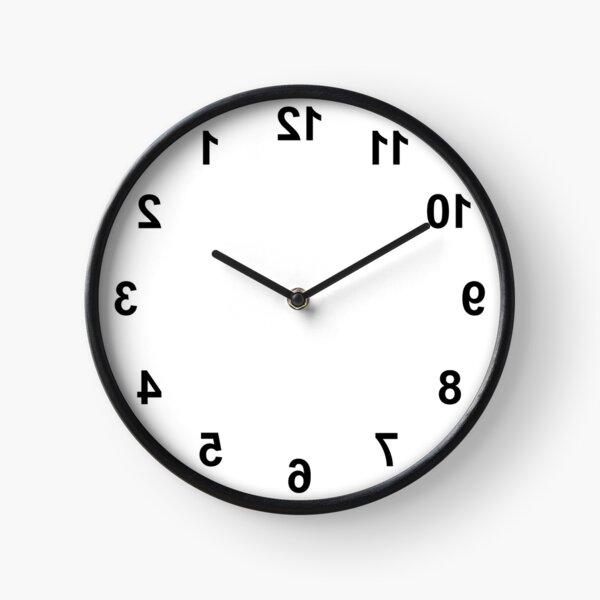 Reverse Miscellaneous Clock Clock
