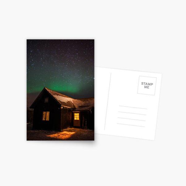 Glow Postcard