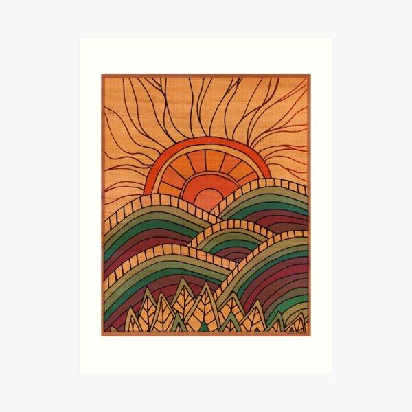 Mountain Magic Art Print