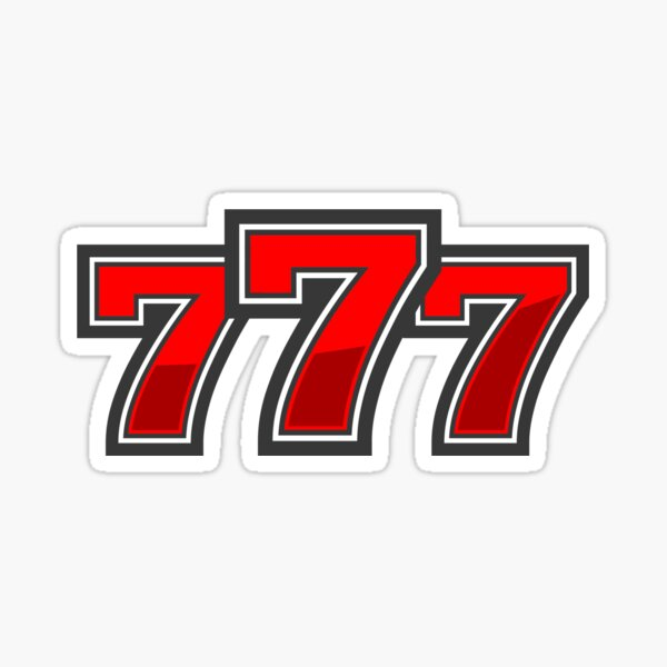 Lucky casino  777 Sticker
