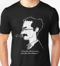 Groucho Marx flies like a t-shirt Unisex T-Shirt