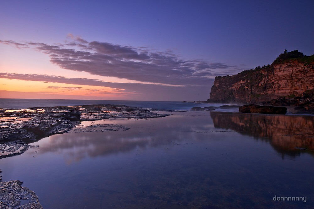North shore Sunrise by donnnnnny