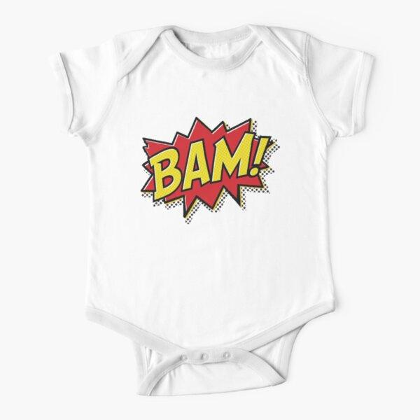 BAM! Short Sleeve Baby One-Piece