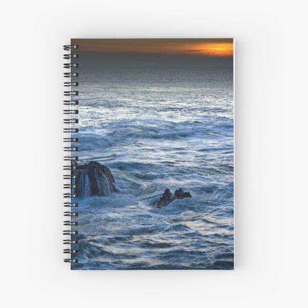 Mor Iwerddon (The Irish Sea) Spiral Notebook