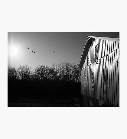 Farm Scene Photographic Print