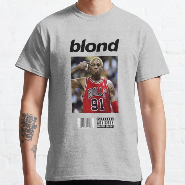 Arte de la cubierta rubia de Dennis Rodman Bulls Camiseta clásica